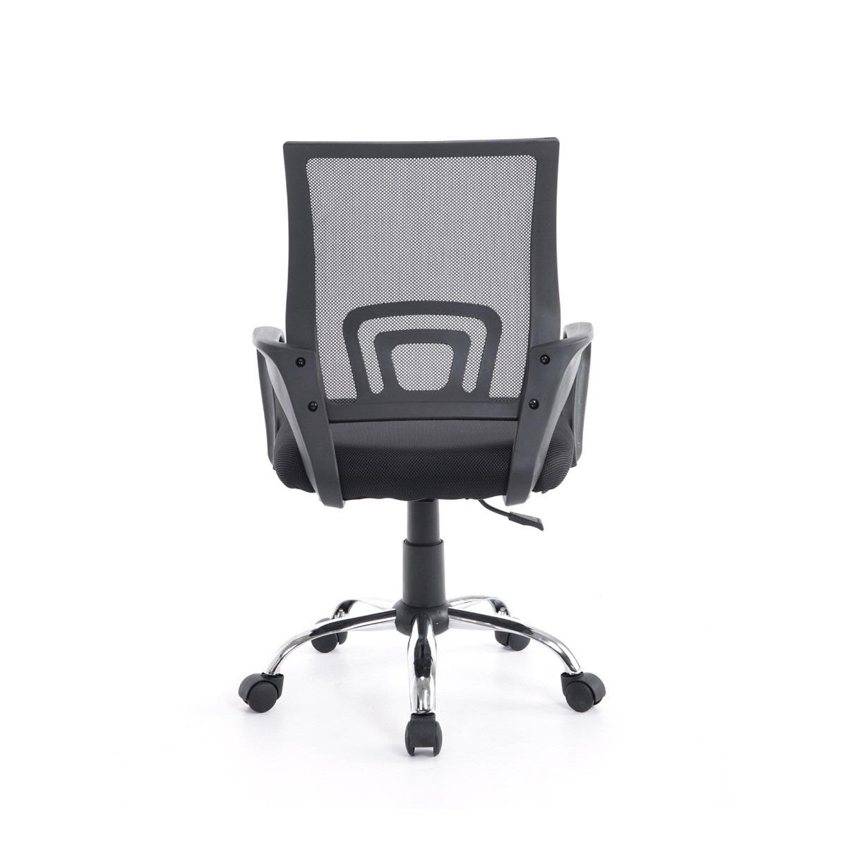 Cadeira Office Giratória Mesh Executiva Preta Bluecase - BCH-59BK