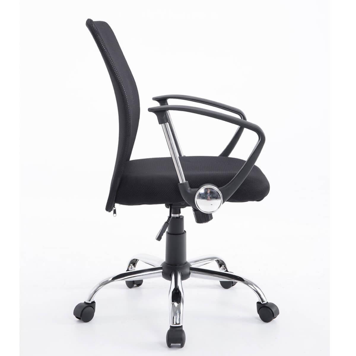 Cadeira Office Giratória Secretária Preta Bluecase - BCH-13BK