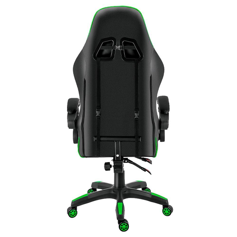 Cadeira XZONE Gamer Premium CGR-01 Reclinável Preto Verde