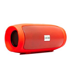 Caixa de som portátil Bluetooth Vermelha - Hayom CP2706