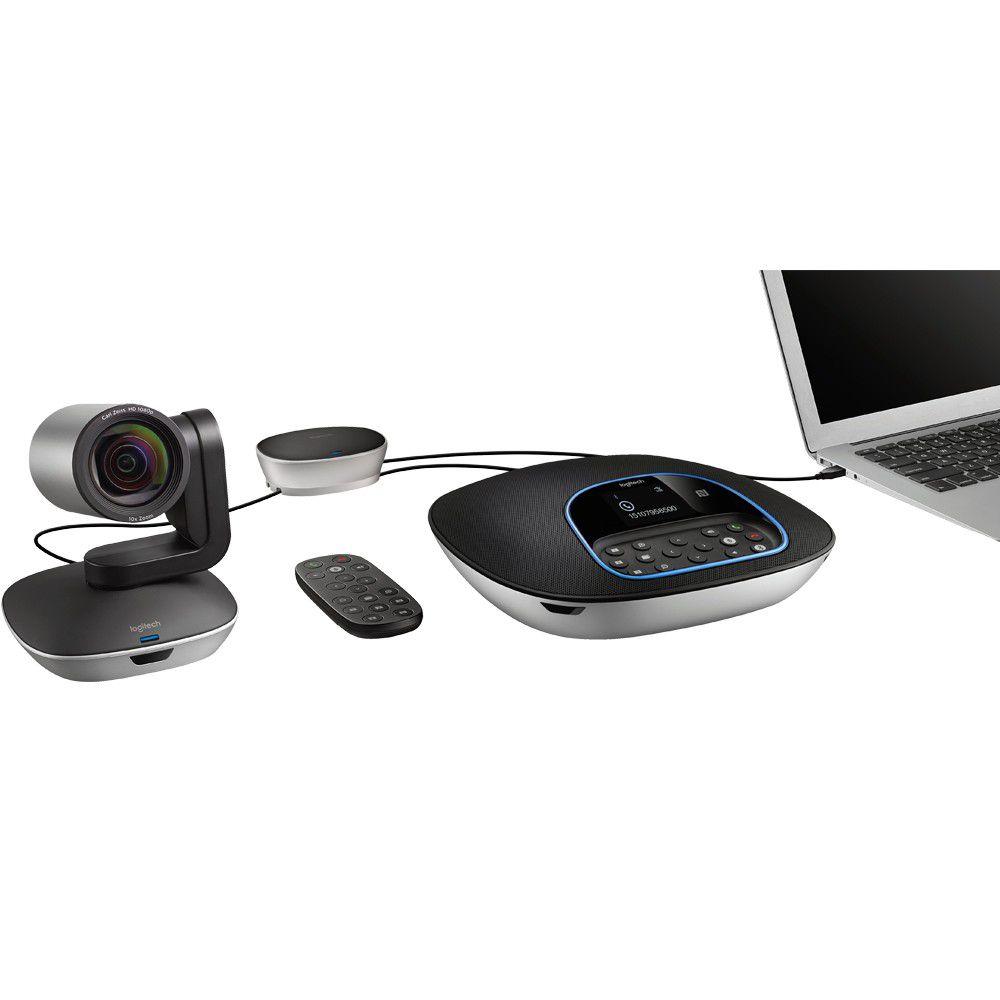Câmera Sistema de Videoconferencia Logitech Group CC3000 2