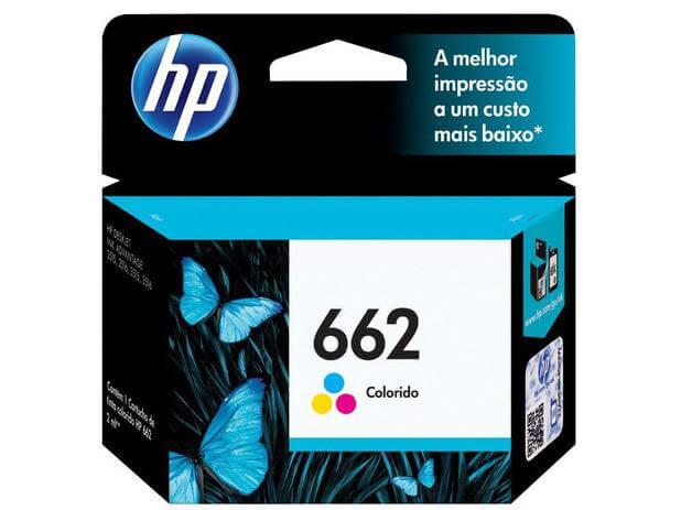 Cartucho De Tinta HP 662 Tricolor 2ml