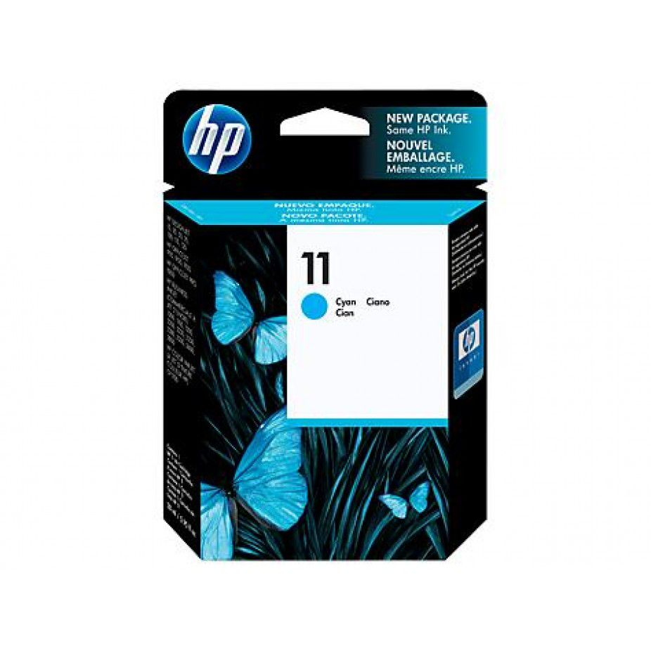 Cartucho Tinta Officejet HP Suprimentos C4836A 11 Ciano 28ML