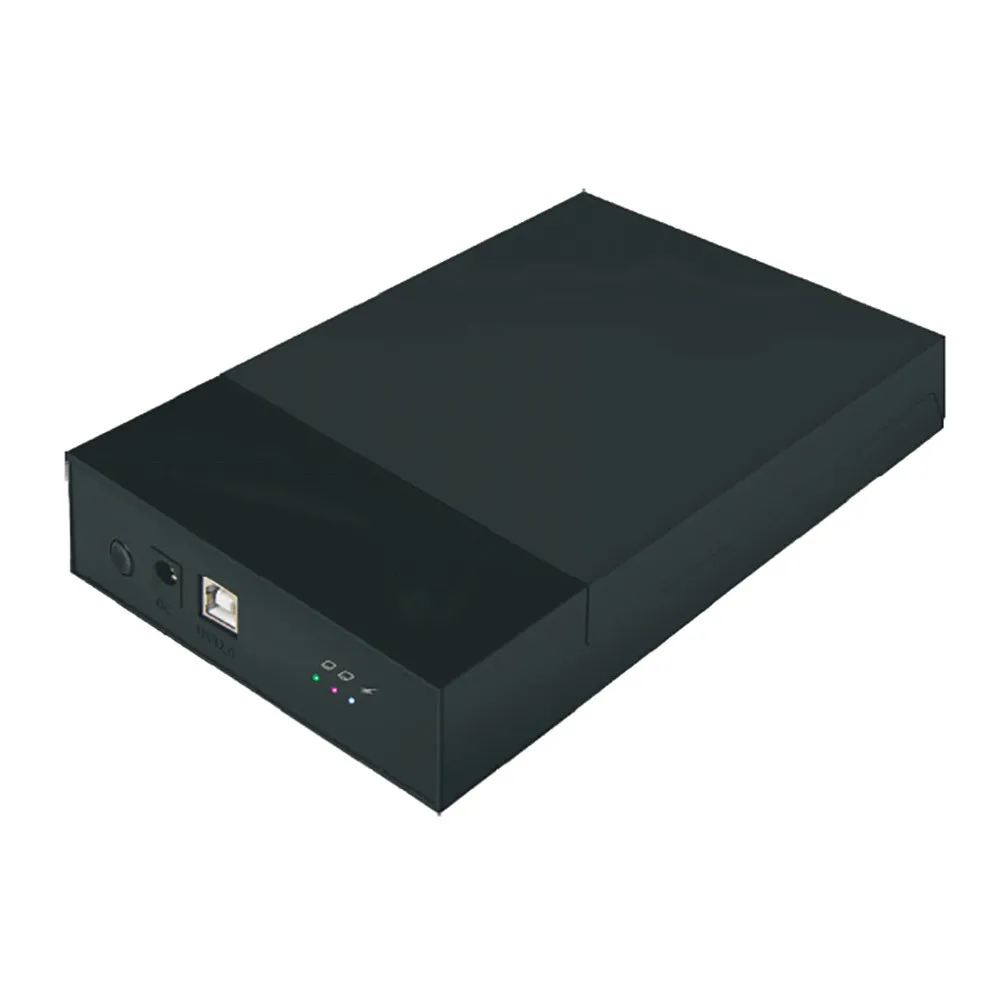 Case de HD 3,5 e 2,5 POL Externo Preto MENC-35TU2/BK