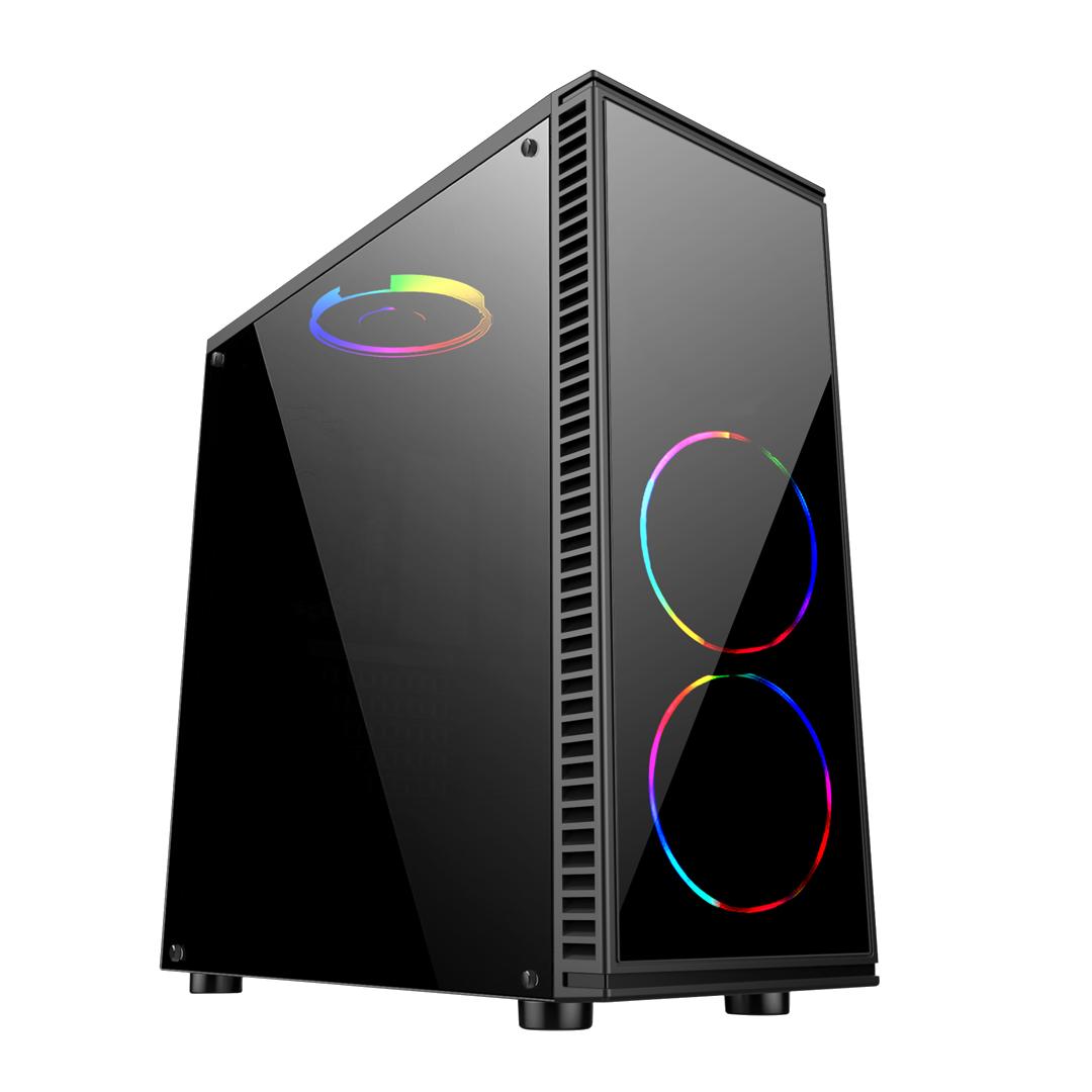 Computador Gamer AMD Ryzen 5 2400G, Hd 1TB, 8GB DDR4, RX 580 8GB, 500W