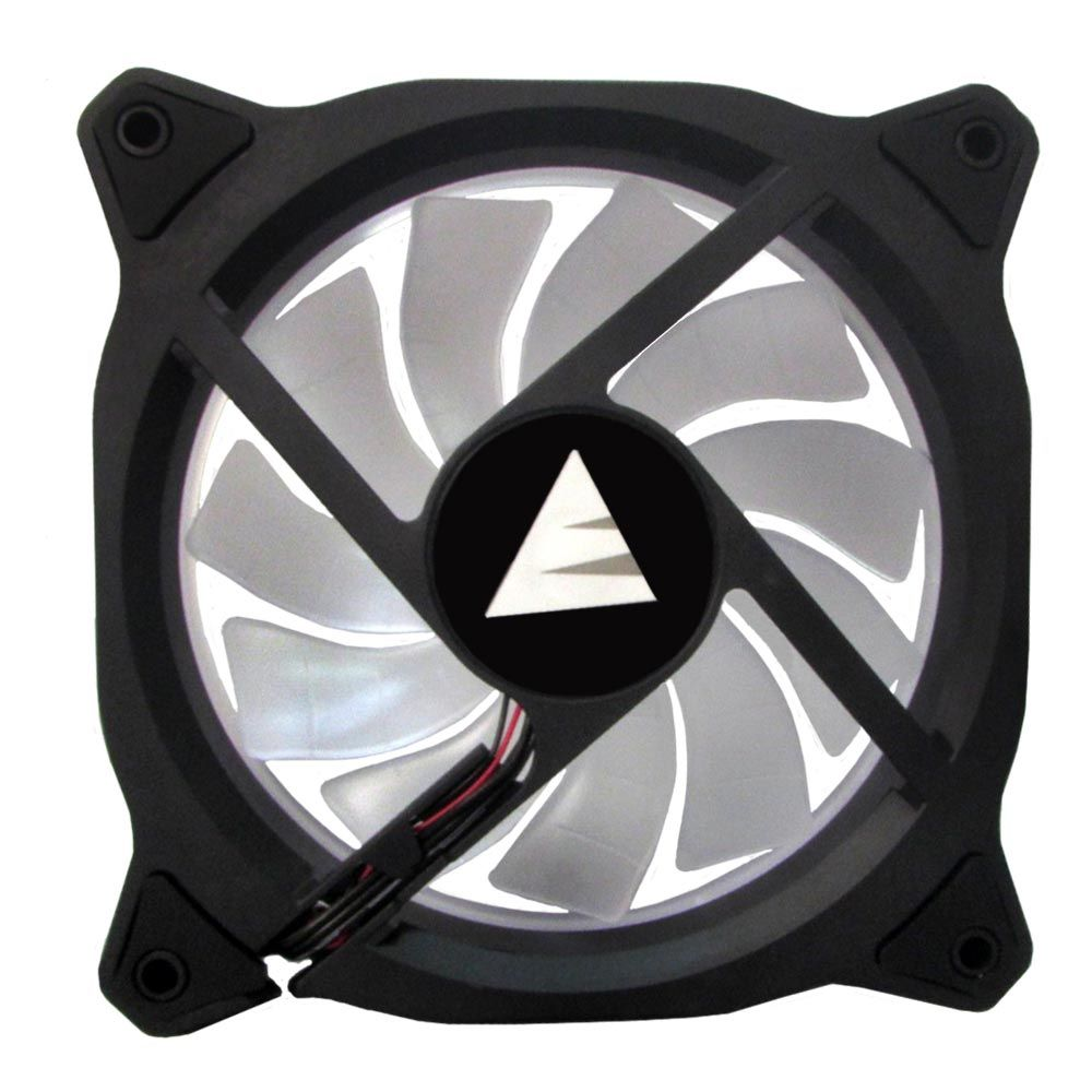 Cooler FAN para Gabinete Ring Bluecase 12cm Branco BFR-05W