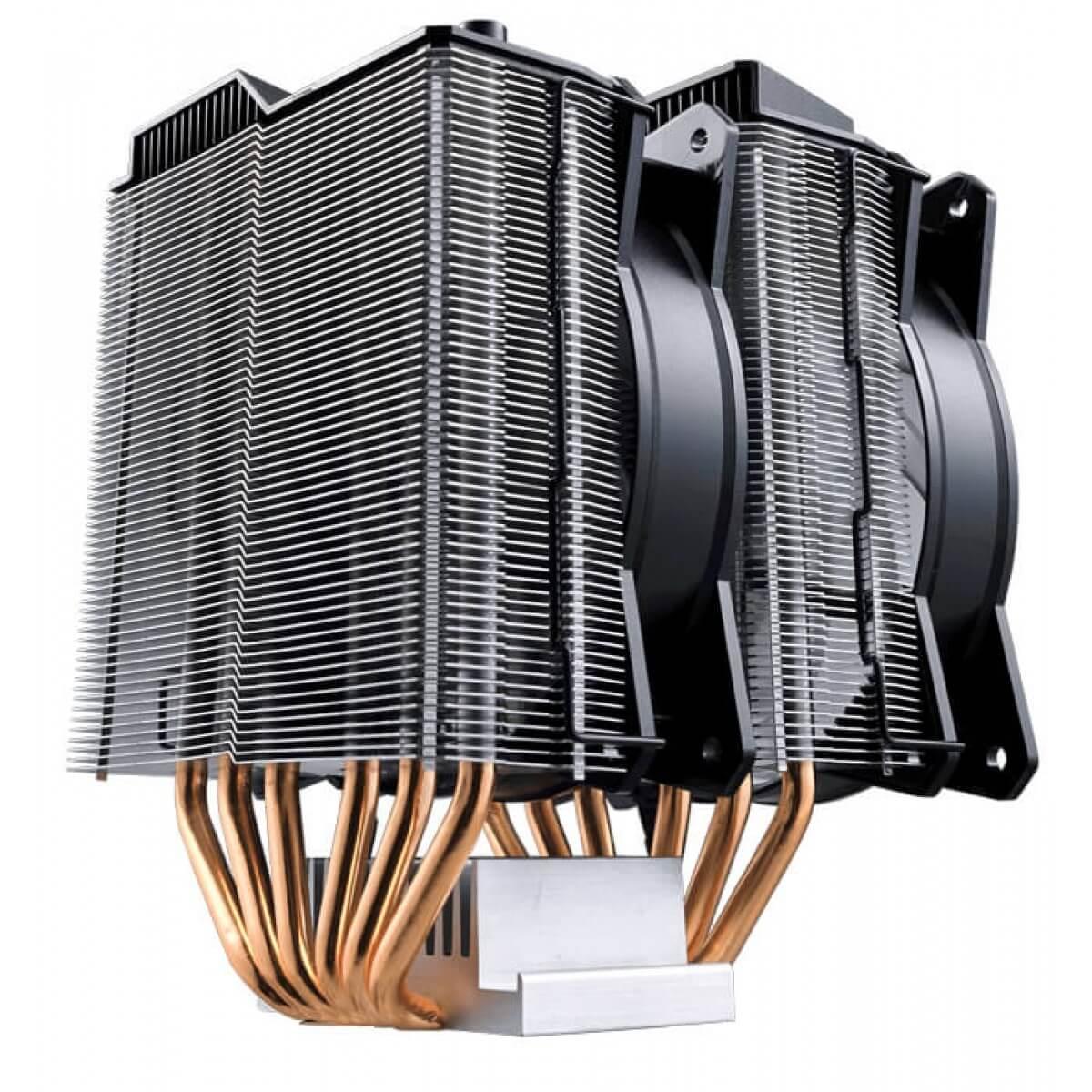 Cooler para Processador Masterair MA620P Cooler Master RGB 120mm Intel AMD MAP-D6PN-218PC-R1