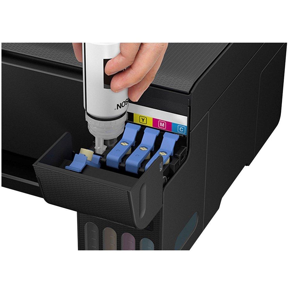 Impressora Multifuncional EPSON Tanque TE Tinta L3150 Wifi Ecotank