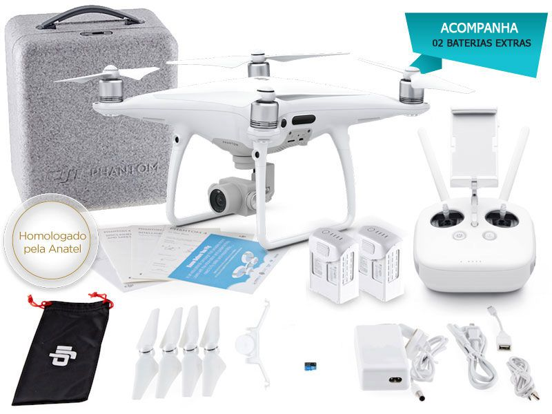 Drone DJI CP.PT.000493.EB Phantom 4 PRO Combo