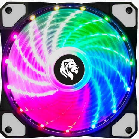 Fan Cooler Master LED RGB - Hayom FC1302