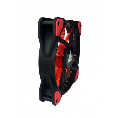 Fan Cooler P/ Gabinete Vermelho BlueCase BF-02R