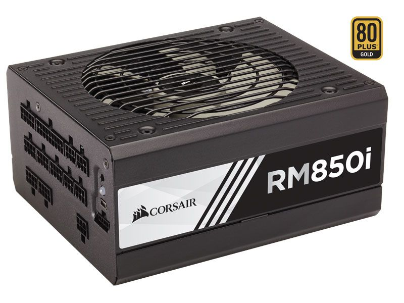 Fonte 80PLUS GOLD Corsair RM850I RMI 850W Digital PFC Modula