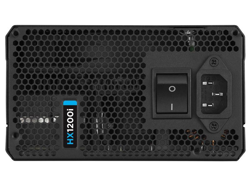 Fonte Corsair 1200W HXI1200 Modular Platinum PFC Ativo