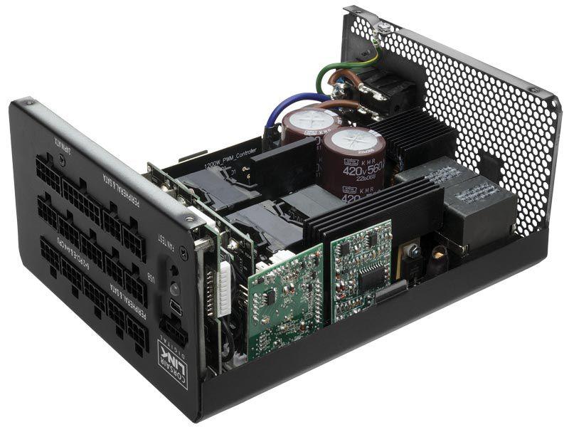 Fonte 80PLUS Platinum Corsair HXI 1200W ATX PFC Modular