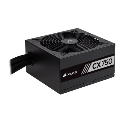 Fonte Corsair CX750 80 Plus Bronze 750W - CP-9020123-WW