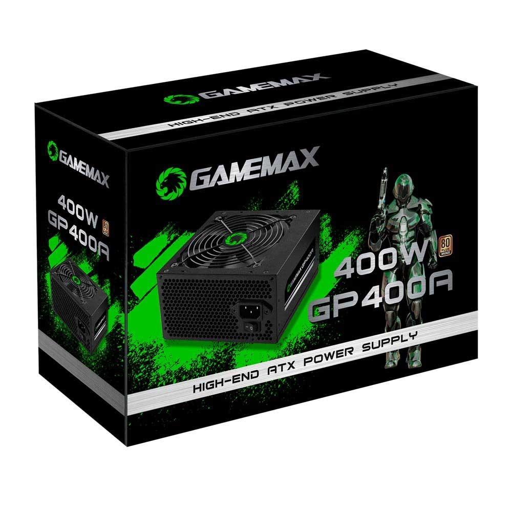 Fonte GameMax 400W 80 Plus Bronze PFC Ativo GP400A