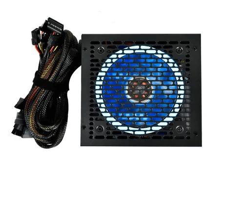Fonte Gamer RGB Evus EVG500 80 Plus Bronze PFC Ativo
