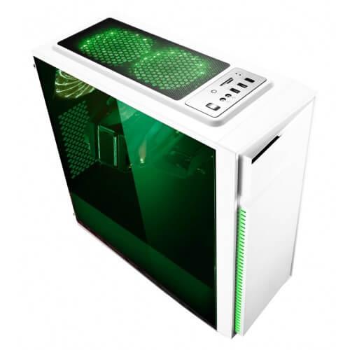 Gabinete Bluecase Gamer BG-015 sem Fonte USB 3.0 Frontal branco