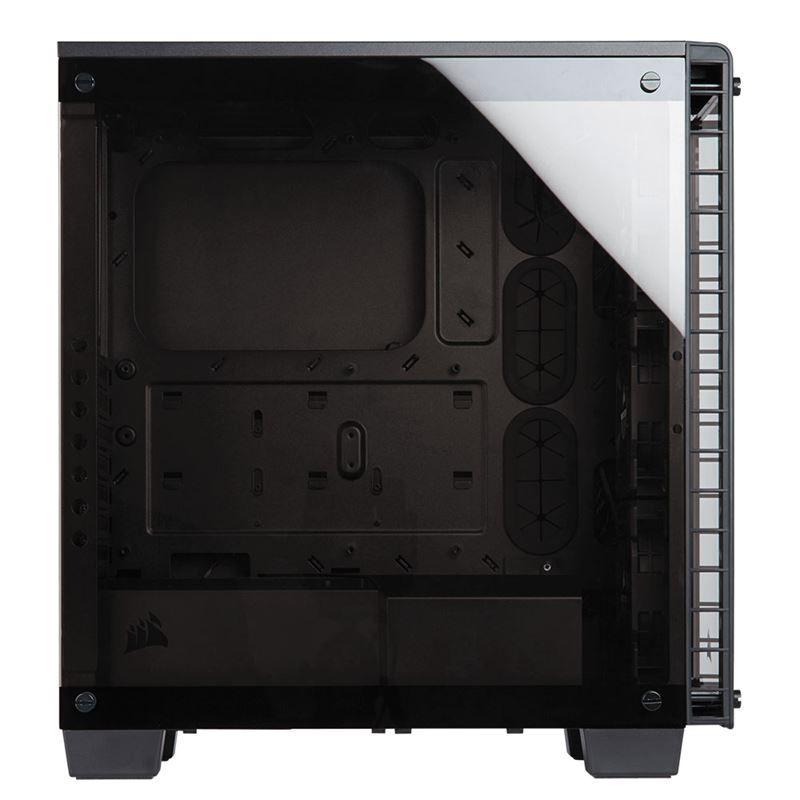 Gabinete Corsair CRYSTAL 460X RGB Preto CC-9011101-WW