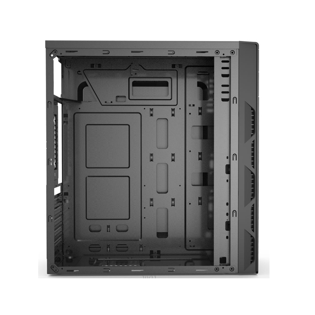 Gabinete Gamer BlueCase BG-014 Mid Tower Black S/ Fonte