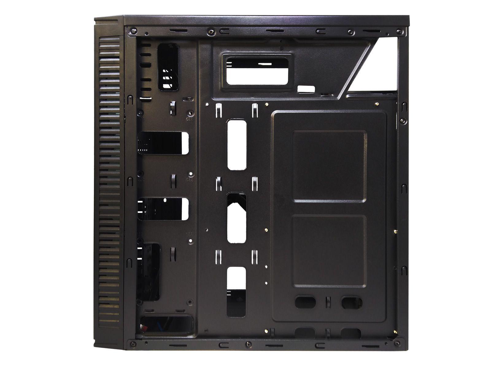 Gabinete Gamer BlueCase BG-014 Mid Tower Black S/ Fonte