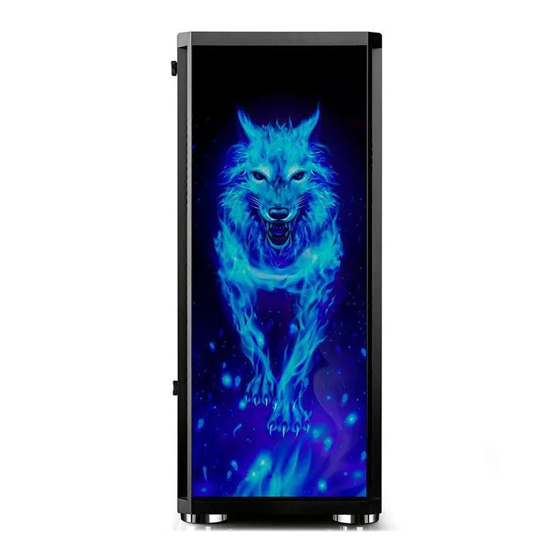 Gabinete Gamer BlueCase BG-026 Wolf Lateral Mid Tower Vidro BG026GCASE