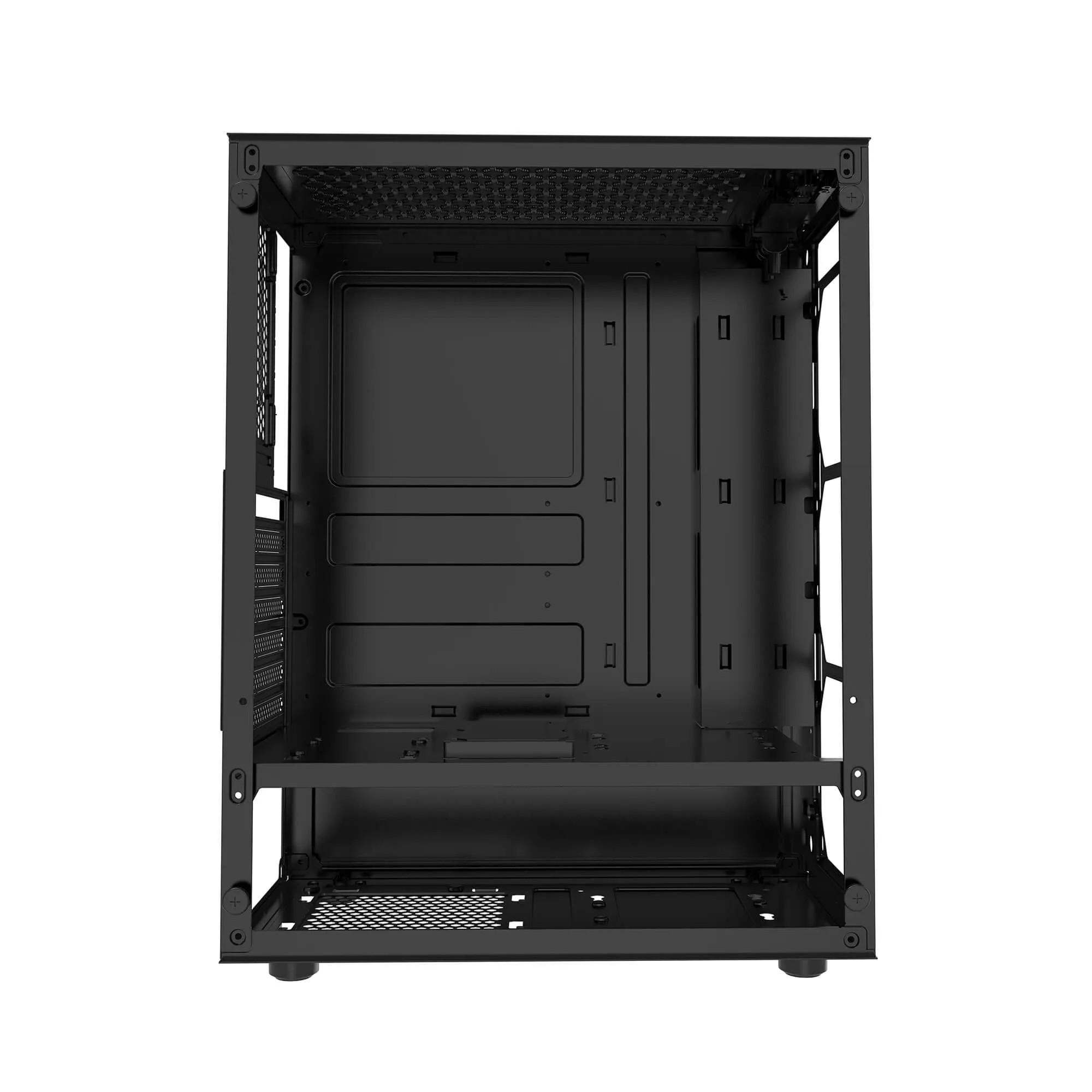 Gabinete Gamer BlueCase BG-033W RGB Vidro Mid Tower USB 3.0