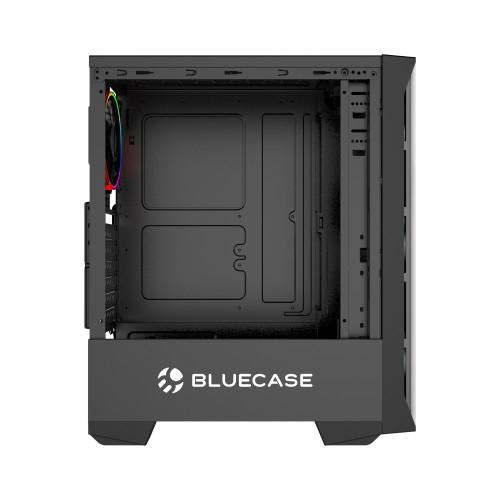 Gabinete Gamer BlueCase BG-036 s/Fans Frontal e Lateral em Vidro Mid Tower USB 3.0