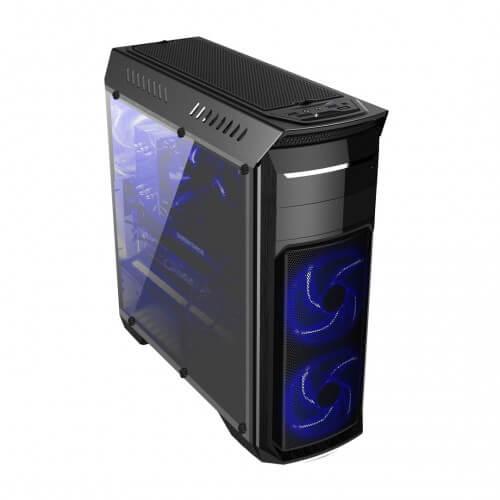 Gabinete Gamer Bluecase BG-110 sem Fonte USB 3.0 Preto