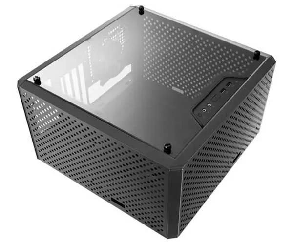 Gabinete Gamer Cooler Master Masterbox Q300L Mini Tower C/ 1 Fan S/ Fonte Masterbox MCB-Q300L-KANN-S00