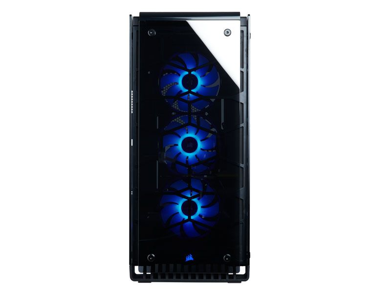Gabinete Gamer Corsair CC-9011126-WW CRYSTAL 570X RGB Preto