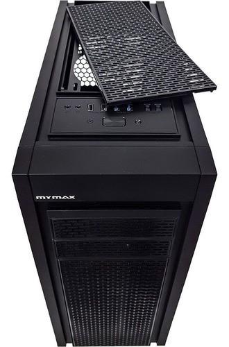 Gabinete Gamer Full Tower MyMax Horus Lateral Vidro MCA-HORUS-BK