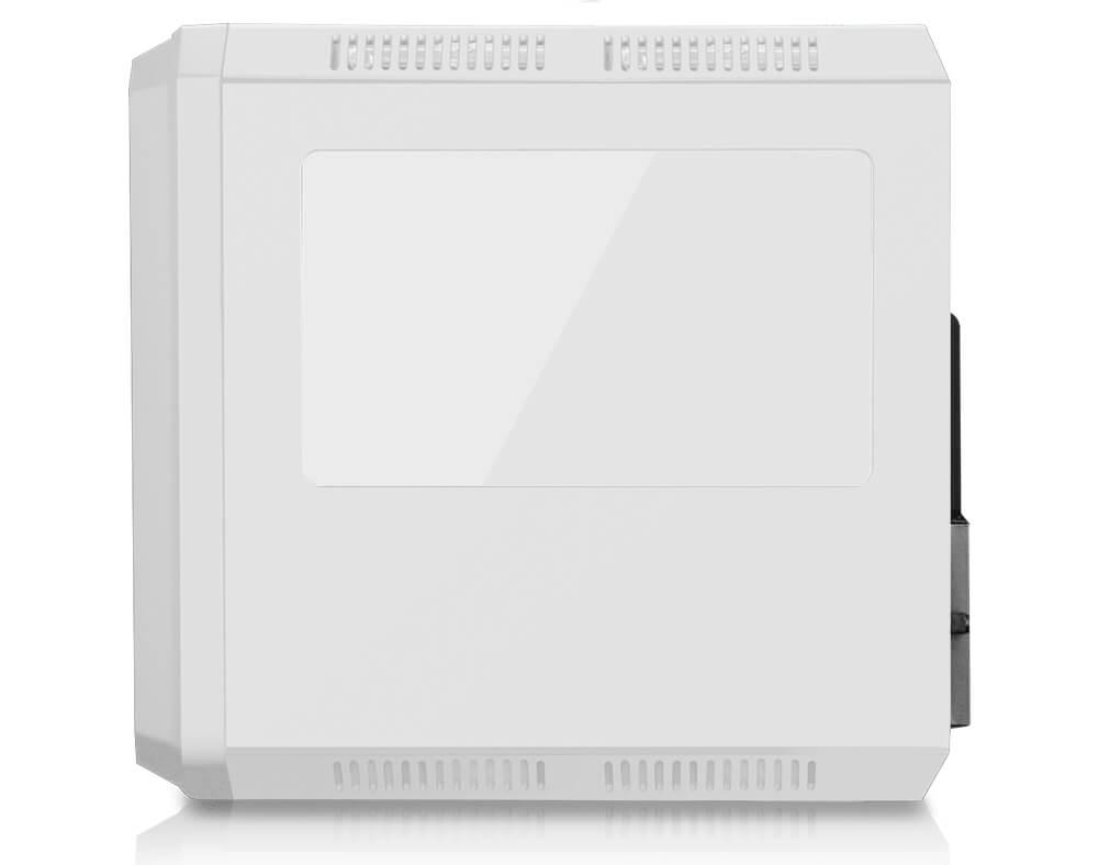 Gabinete Gamer K-mex Microcraft IV CG-04RC Branco s/ Fonte