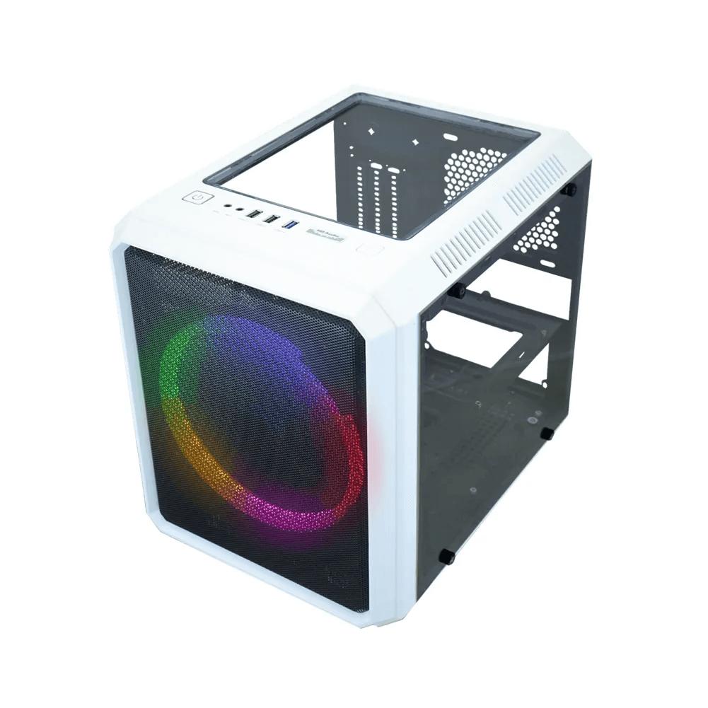 Gabinete Gamer K-mex Microcraft VI Branco