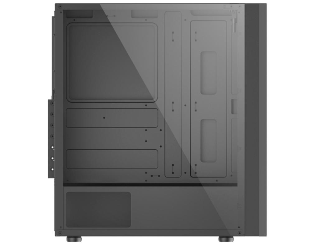 Gabinete K-mex Gamer RGB Middle Tower Multiverso CG-02TT