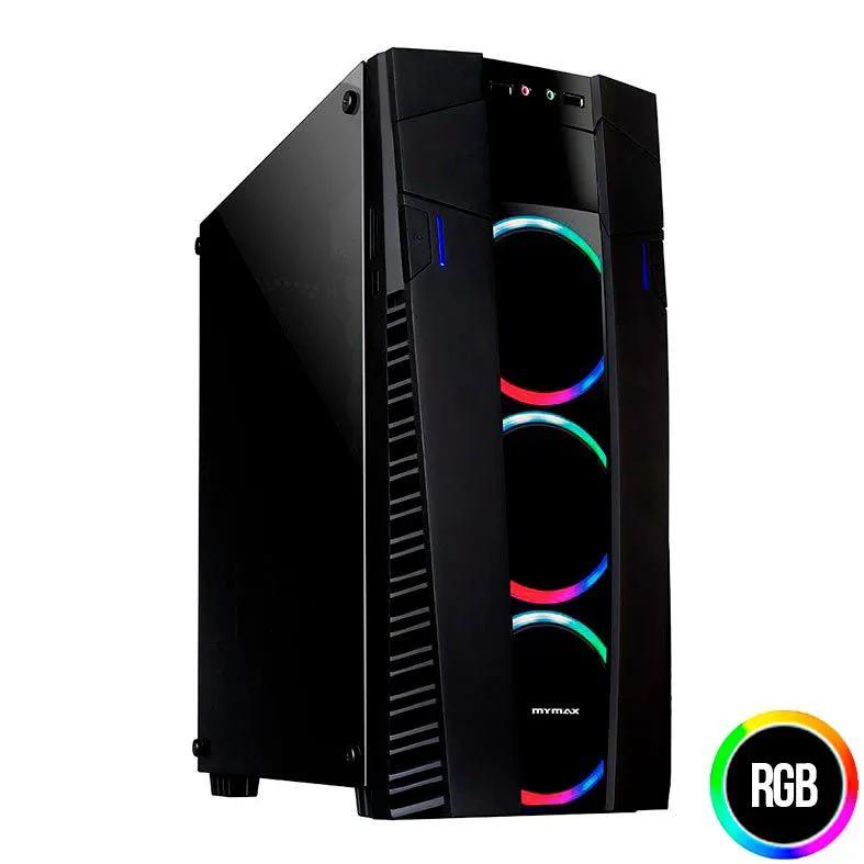 Gabinete Gamer Mymax Eclipse USB 3.0 RGB LED MCA-FC-EC09A/RGB