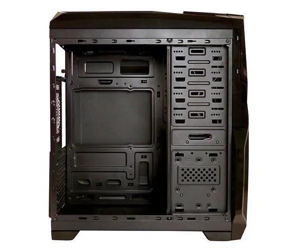 Gabinete Gamer Pixxo S/ Fonte Preto / Azul HTL017L06S