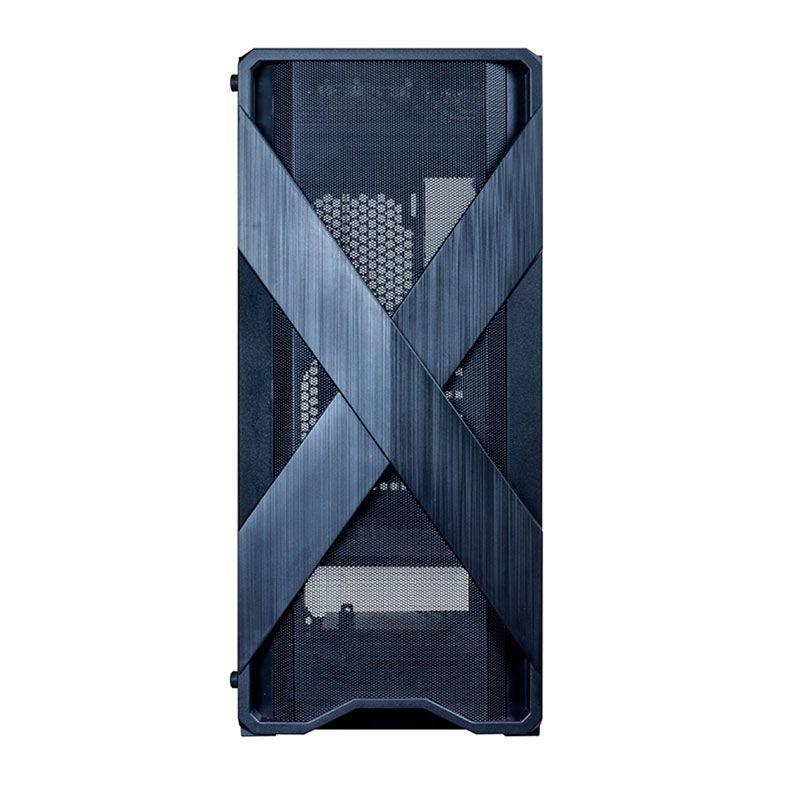 Gabinete Gamer Redragon Brawn Mid Tower Vidro Black S/ fonte S/ Fan GC-500