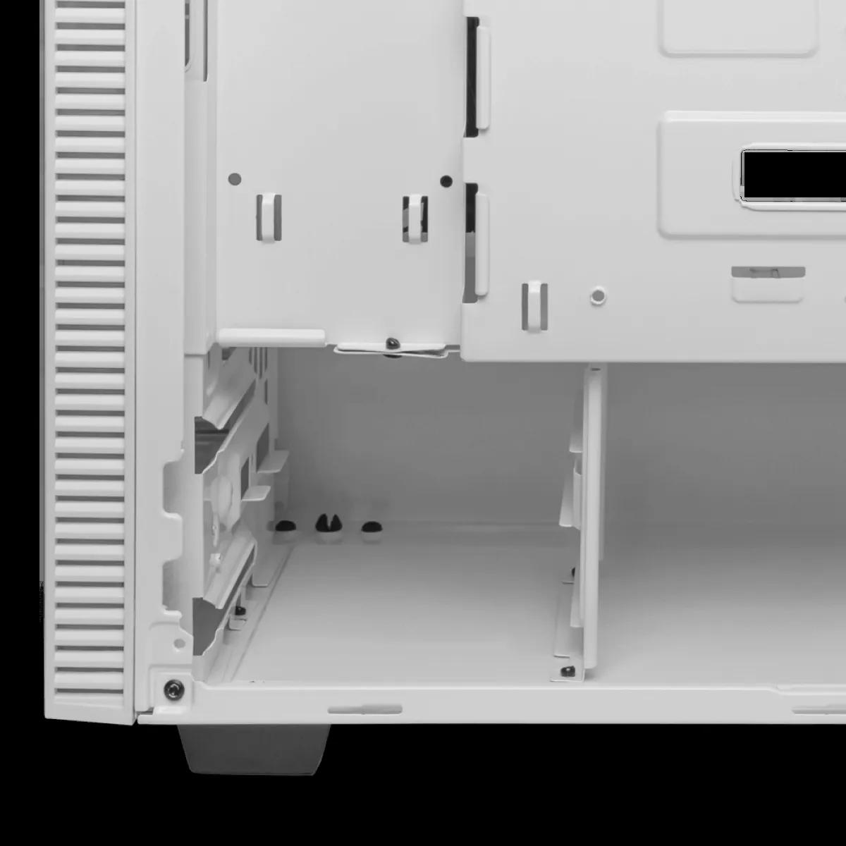 Gabinete Gamer T-Dagger Cube Mid Tower Vidro Temperado White S-Fonte T-TGC305W