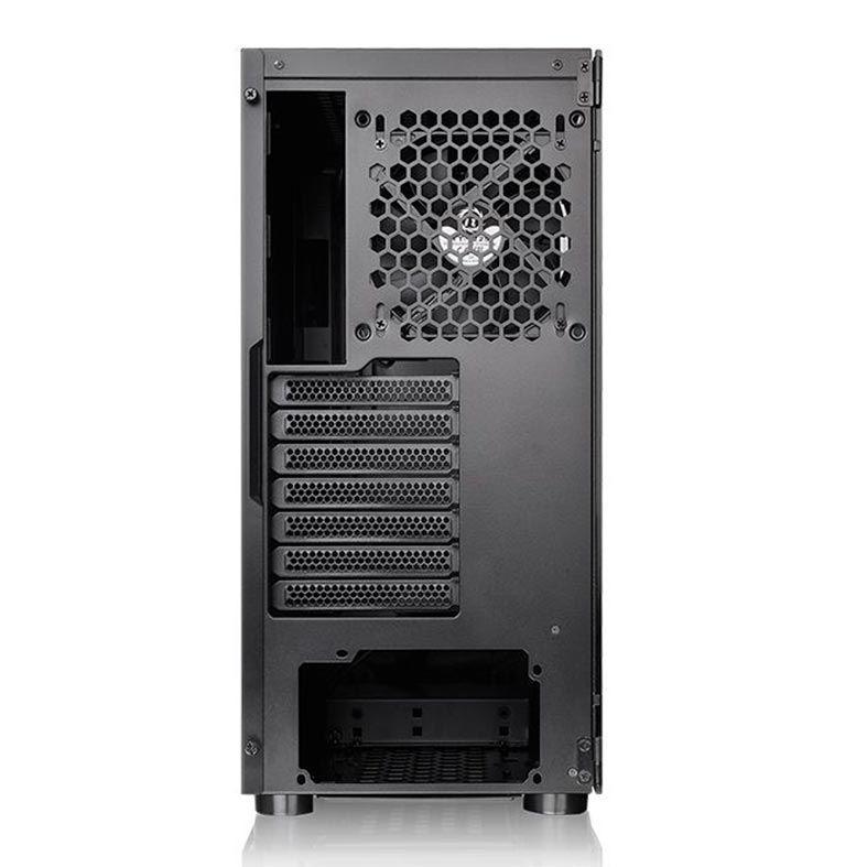 Gabinete Thermaltake H200 TG Mid Tower RGB, com FAN Lateral em Vidro - CA-1M3-00M1WN-00