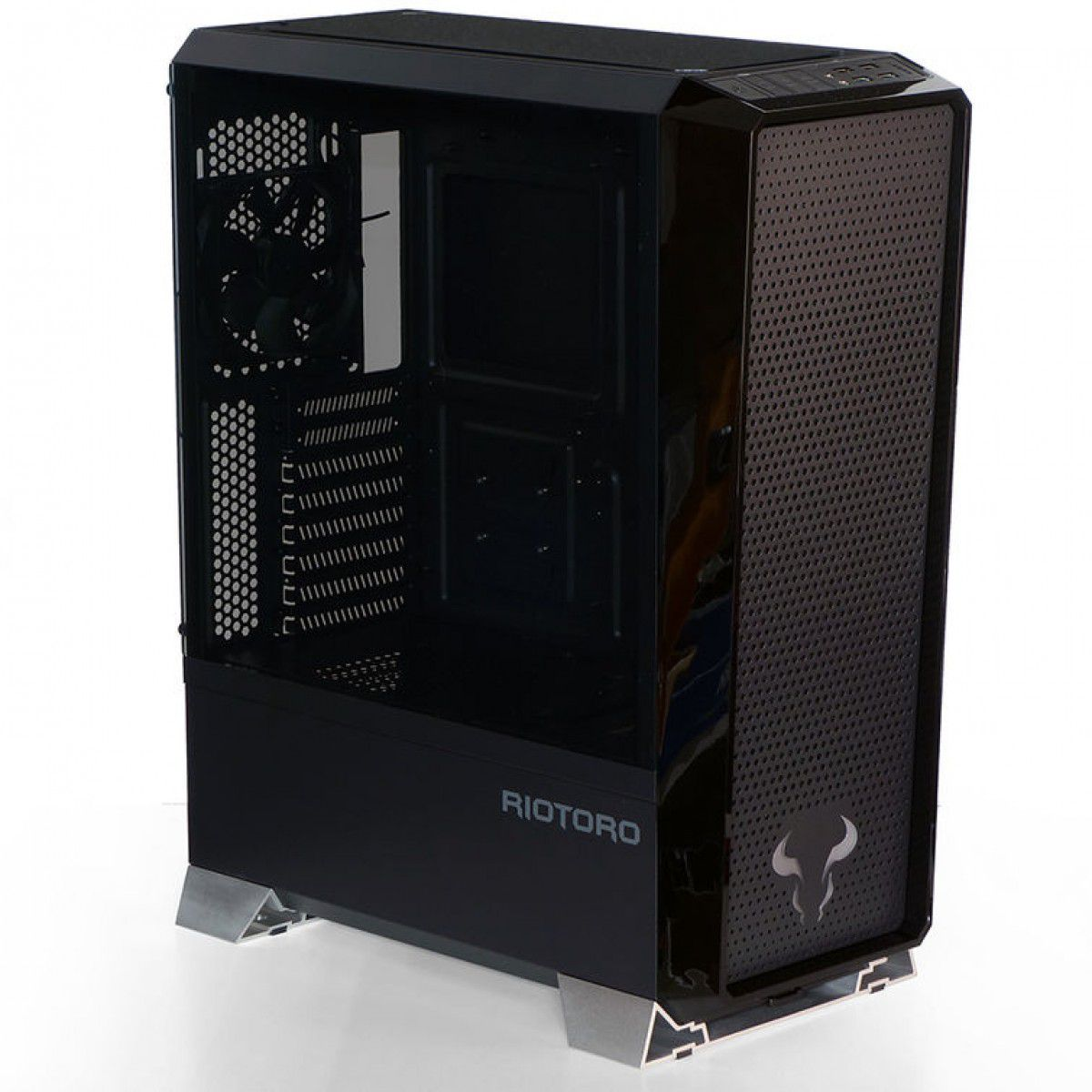 Gabinete Riotoro PRISM RGB FULL Tower ATX USB 3.0 CR1280