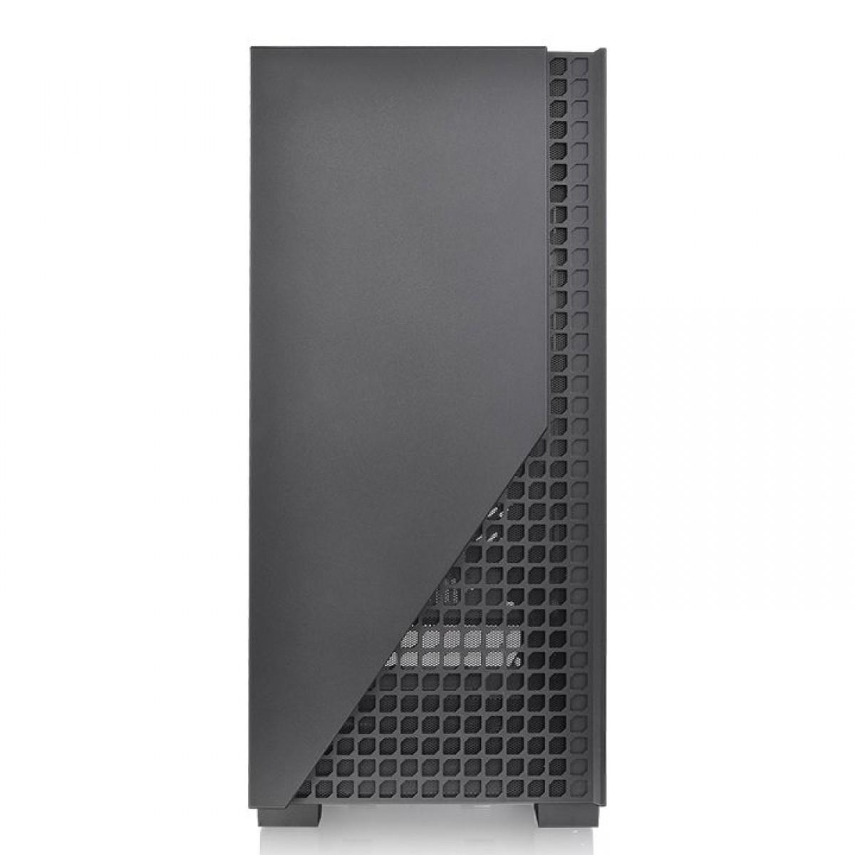 Gabinete Thermaltake H330 TG Preto Vidro Temperado Mid Tower CA-1R8-00M1WN-00