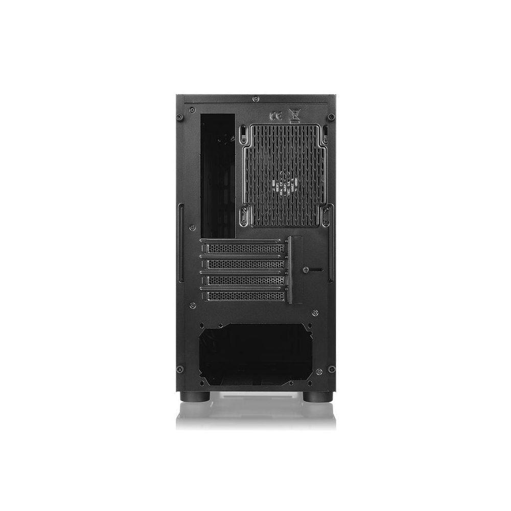 Gabinete Thermaltake Versa H17 Preto Lateral SPCC - CA-1J1-00S1WN-00