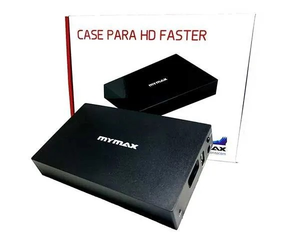"""Gaveta Case HD Externo 3,5"""" Faster USB 3.0 Preto MENC-X3521"""