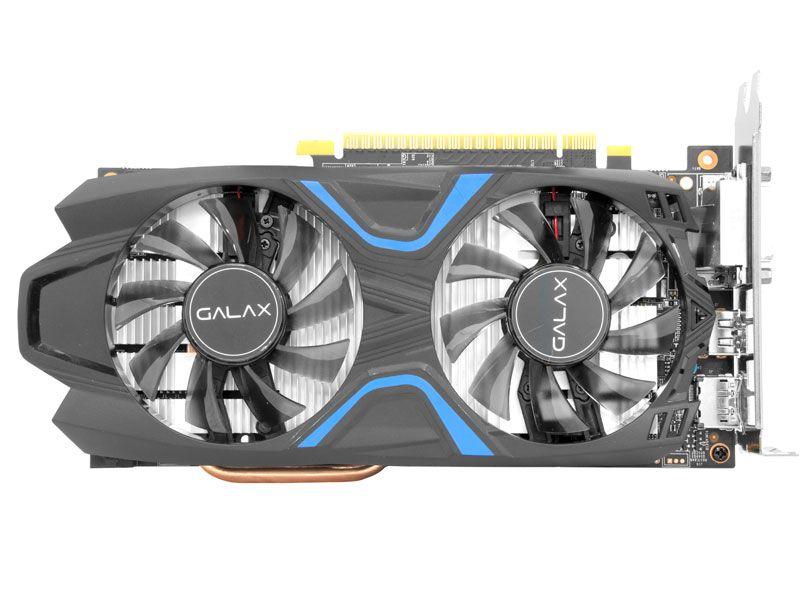 Geforce Galax GTX 1050TI EXOC 4GB DDR5 128BITS 50IQH8DVN6EC