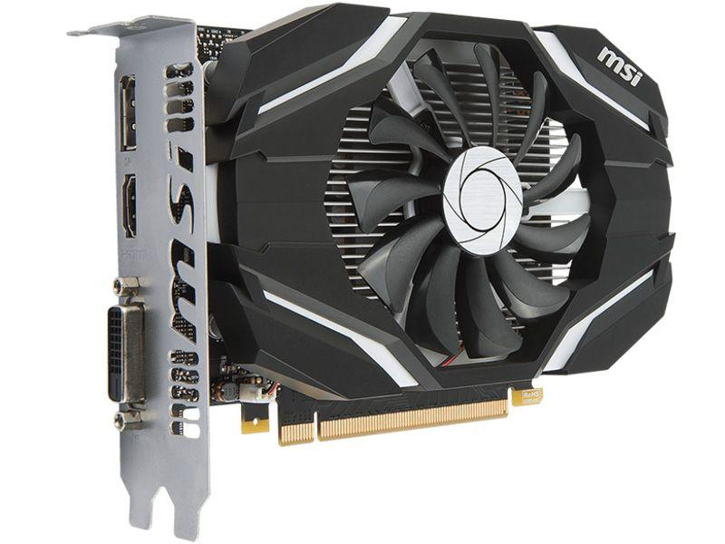 Geforce MSI GTX Nvidia 912-V809-2268  GTX 1050TI OC 4GB DDR5