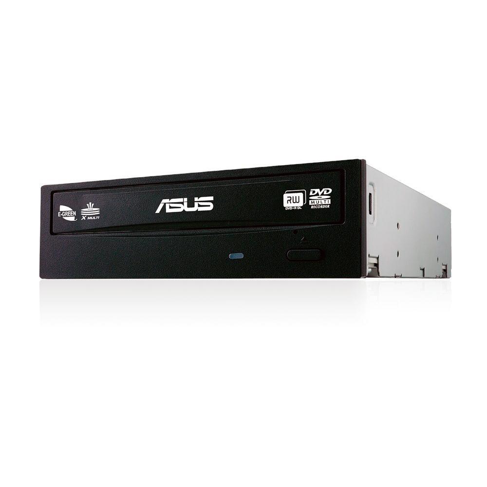 Gravador e Leitor Drive Asus CD/DVD, Sata, Preto - DRW-24F1MT