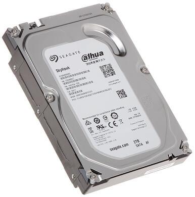 "Hard Disk Seagate 2TB 5900RPM 64MB Cache SkyHawk Sata 6GB/s 3,5"" ST2000VX003"