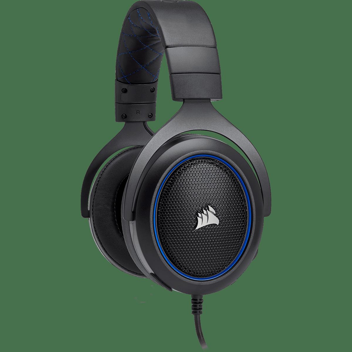 Headset Corsair Raptor HS50 Azul PC/PS4 CA-9011172-NA