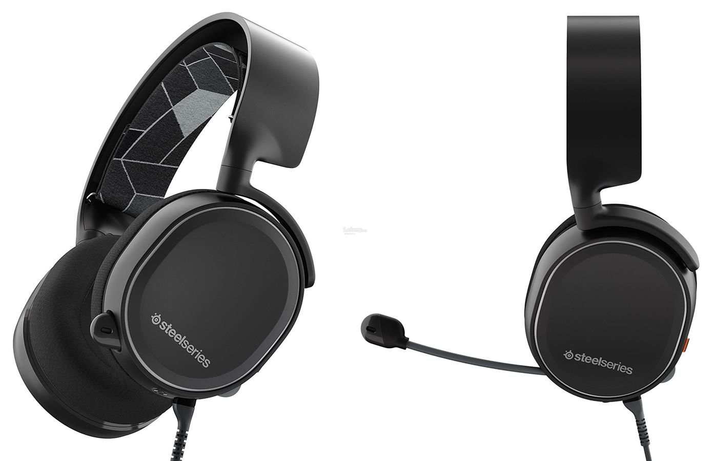Headset Gamer Arctis 3 Steelseries 7.1 Black - 61433